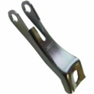 Scheinwerferhalter für V-Brake, lang, ohne Schraube/Mutter, Nirosta, lose - 1