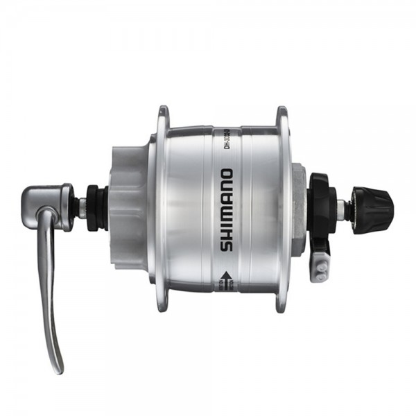 Shimano Nabendynamo DH3D32, silber, 6 Volt, 3 Watt, lose - 1