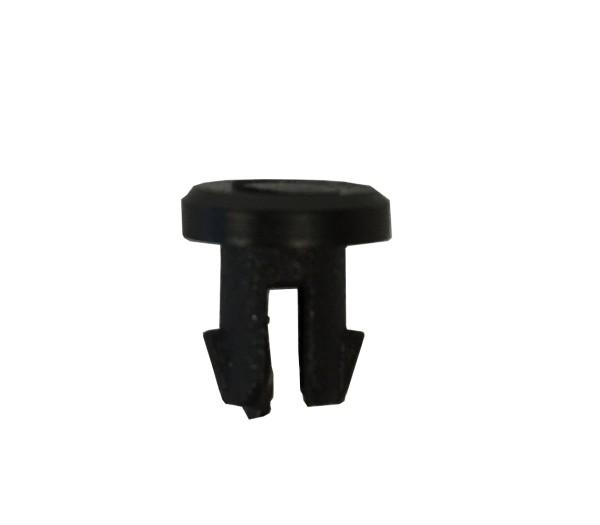 Blindstopfen für M5 Gewinde, Rahmenstopfen, PVC, schwarz, (VE 100 Stück), lose - 1