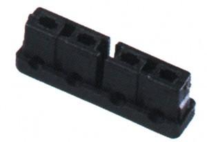 AXA Kabelstecker für Dynamo HR Traction, schwarz, lose - 1