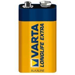 Varta Longlife Batterie Block 9V (4922-6LR61), AS - 1