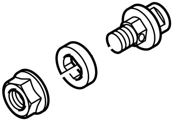 Shimano Kabelklemmschraube 3-teilig, lose - 1